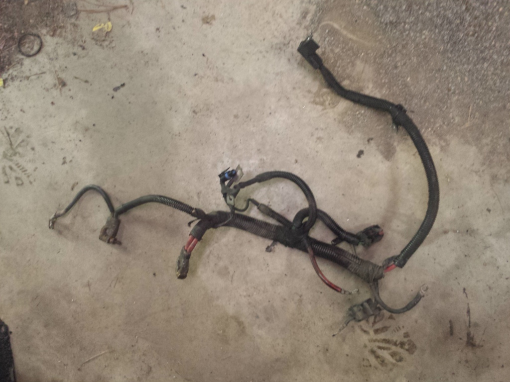 Jeep Zj Wiring Harness : Jeep grand cherokee zj l battery cable and